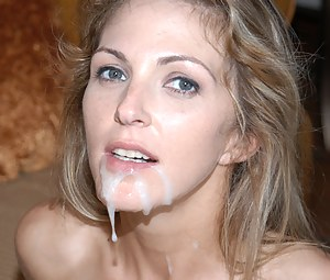 Free MILF Facial Porn Pictures